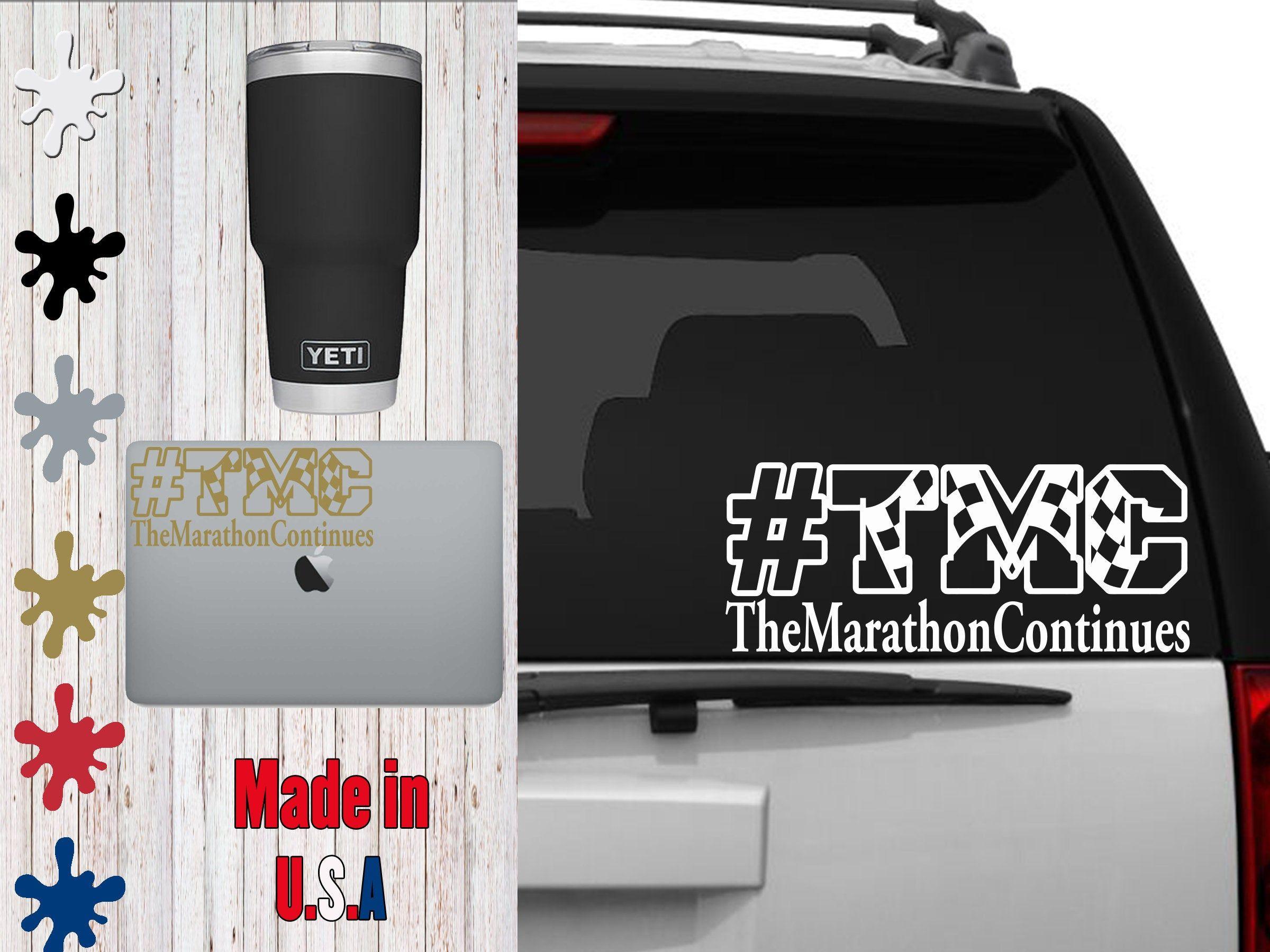 Tmc The Marathon Continues Tmc Car Decal Laptop Decal Mug Decal Tumbler Decal Cup Decal Phone Decal By Veiledtrove On Phone Decals Cup Decal Tumbler Decal [ 1800 x 2400 Pixel ]