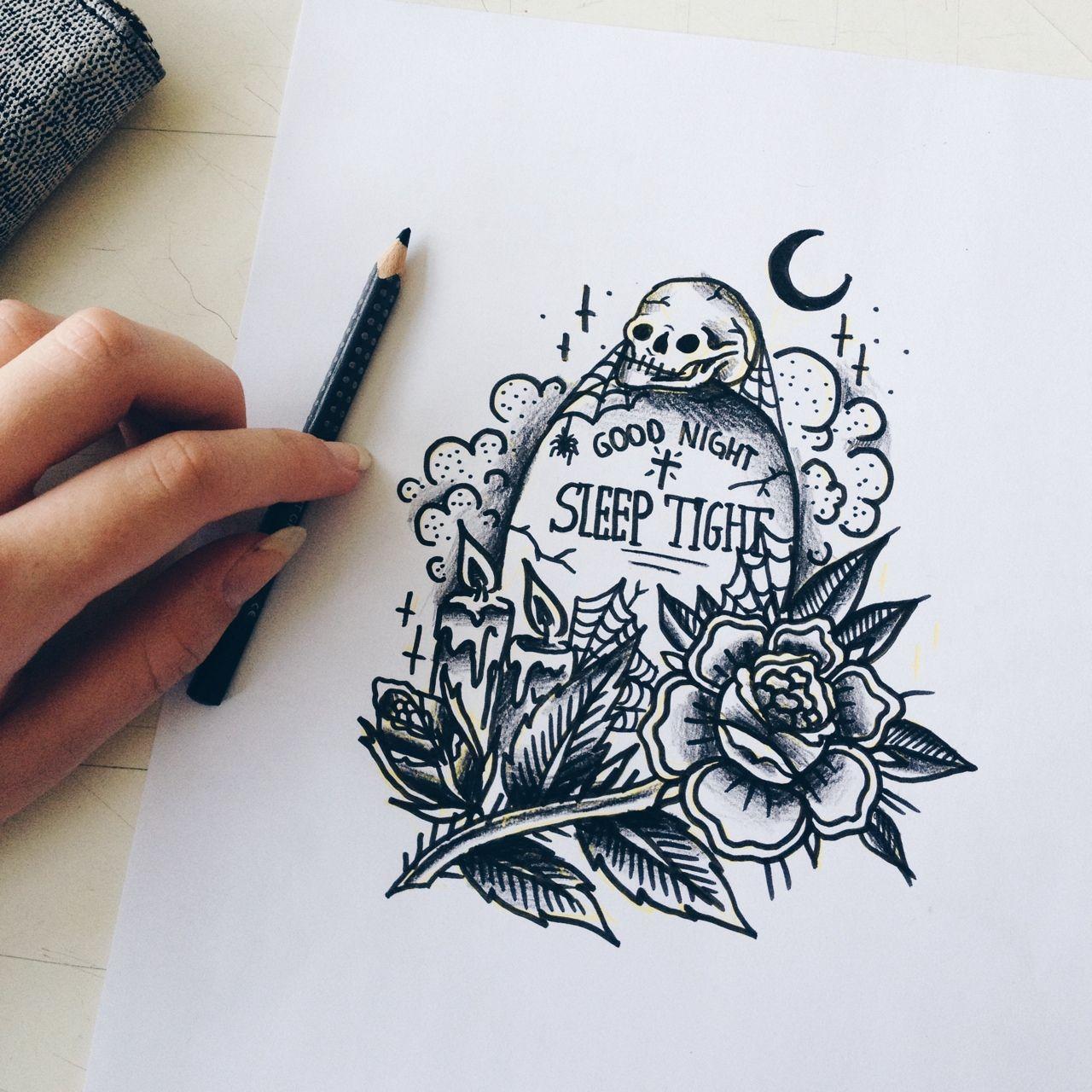 bla bla happy halloween and so on tattoo ideen pinte. Black Bedroom Furniture Sets. Home Design Ideas