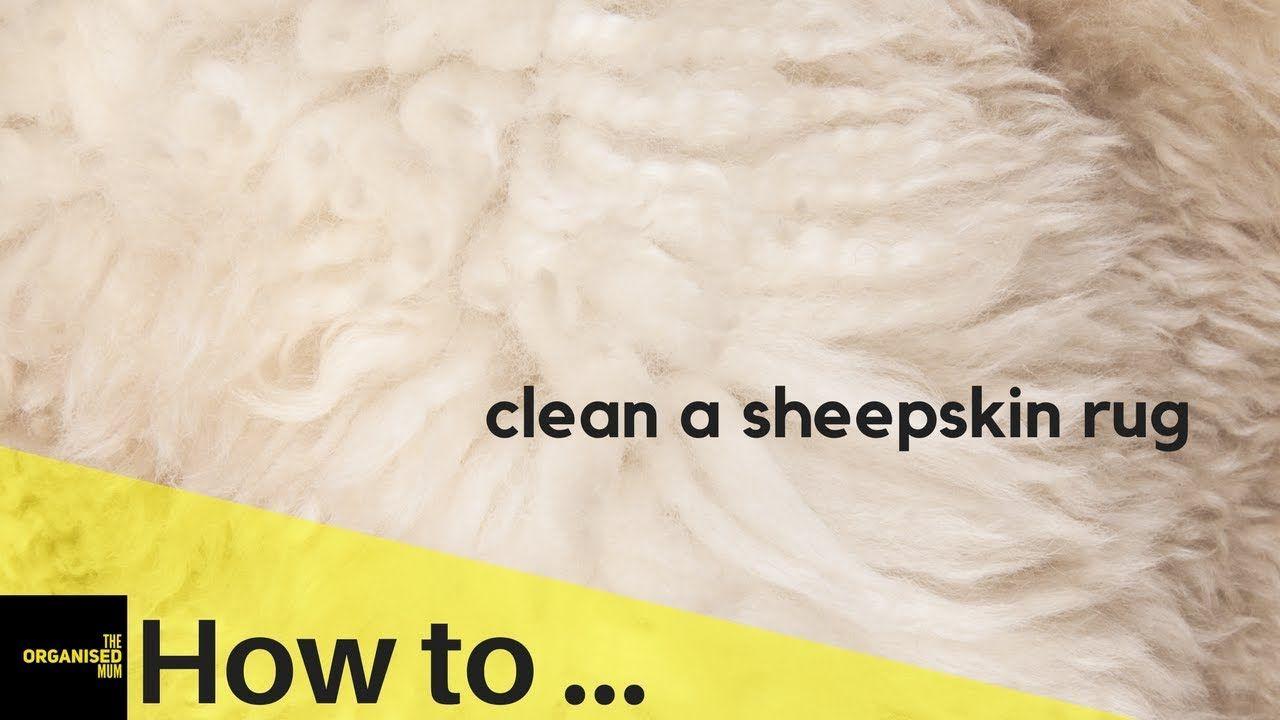 How to clean a sheepskin rug so easy sheepskin rug