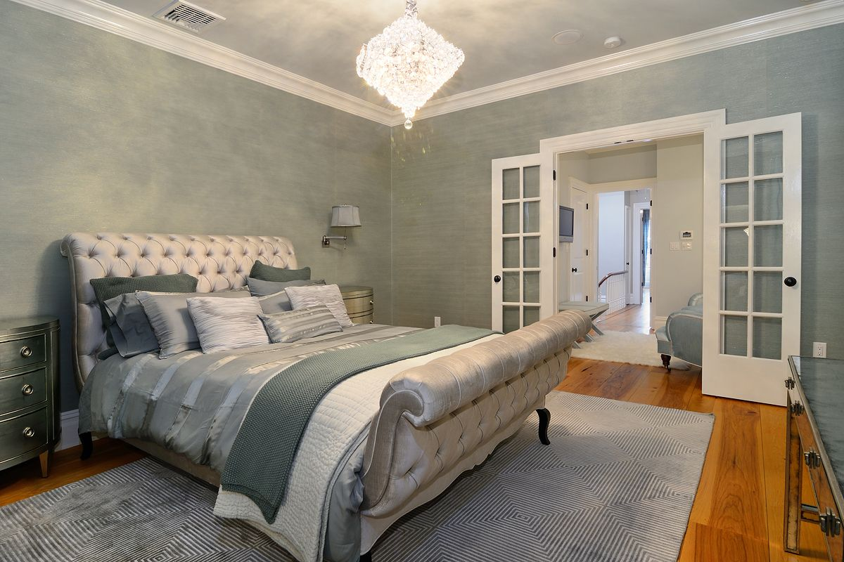 ABSOLUTELY GORGEOUS Master Suite wallpaper #Hoboken