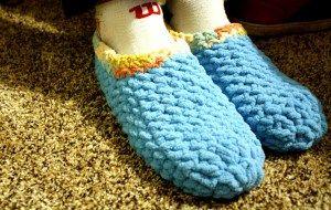 04774264915a2 16} Super Bulky Men's Crochet Slippers Free Pattern   Crocheted ...