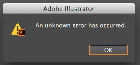 Illustrator Cannot Save An Unknown Error Has Occurred Courses Free Tutorials On Adobe Illustrator Tech Packs Freelancing For Fashion Designers Messages Blog Marketing Error Message