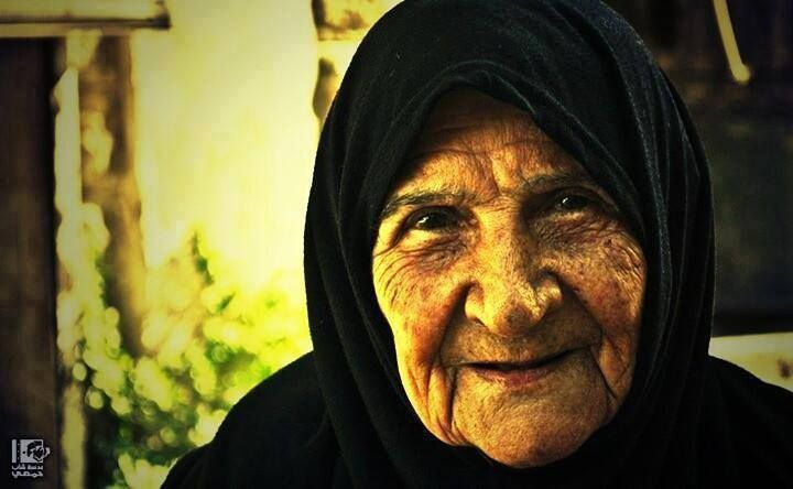 Umm Nizar, 95 years old, one of the oldest surviving women in #Homs, #Syria, was martyred.