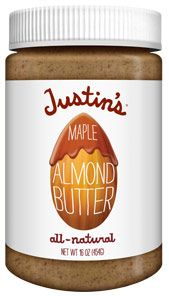 Justin's Maple Almond Butter nominated for best almond butter! Vote for it here: http://www.vegetariantimes.com/2014foodieawards/