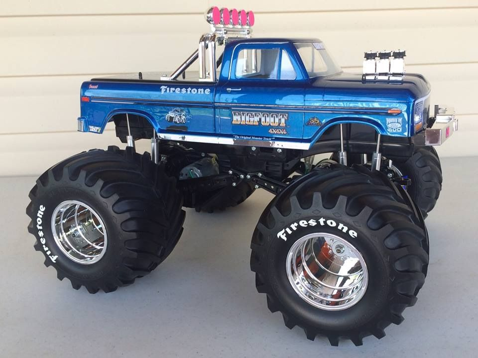 Monster Truck Rc Cars >> Bigfoot The Original Monster Truck Awesome Fast Message To The