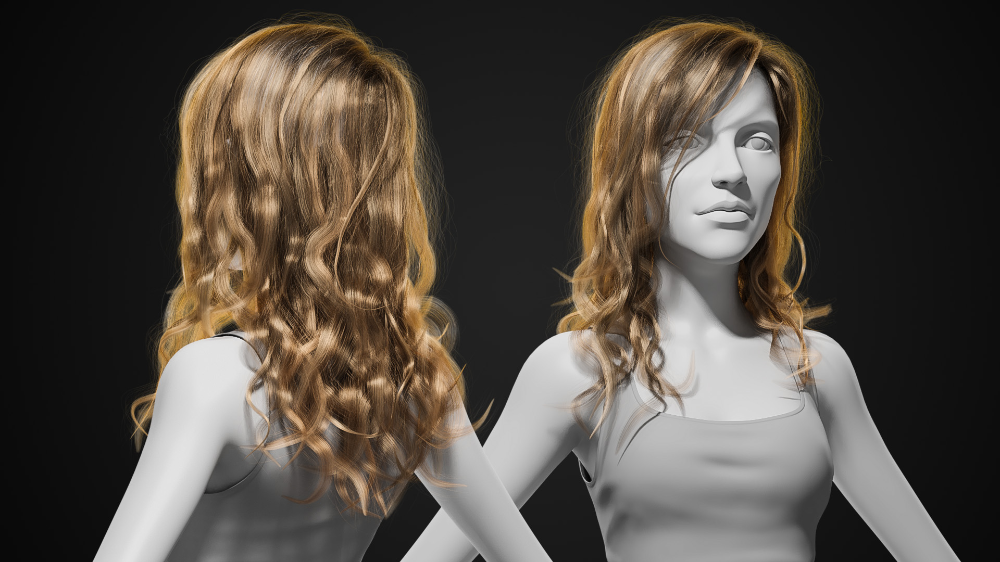 Creating Stunning Long Hair in Blender with Cycles