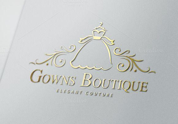 Gowns Boutique Logo Bridal Logo Boutique Logo Boutique Logo Design