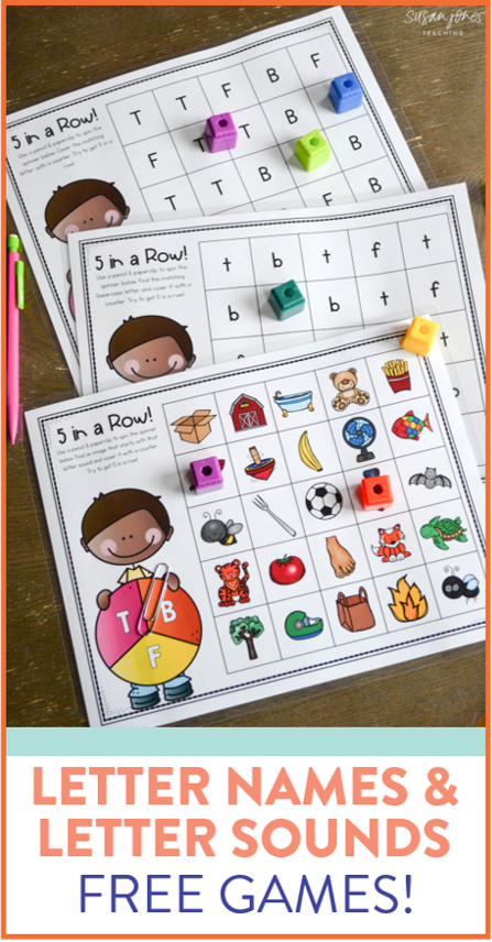 Letter Names and Sounds Free Games Letter sound
