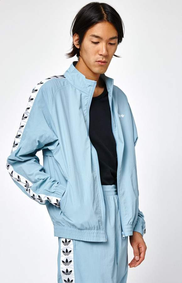 f7dda25bf53f adidas TNT Tape Wind Light Blue Track Jacket  adidas  adidasoriginals   adidasbystellamccartney  tshirt  tshirtdesign  tees  fashion  pants  jacket   bossbabe