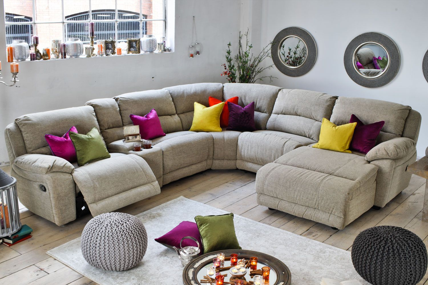 Recliner Sofa  Types of Corner Sofas to Save Your Living Room Space sofa Pinterest Living rooms Spaces and Room