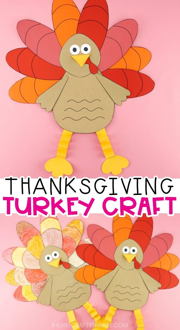 How to Make a Simple Paper Turkey Craft for Kids