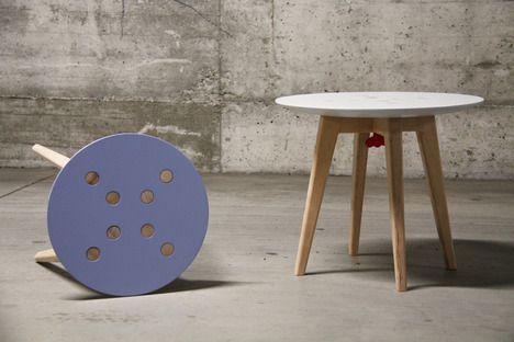 Frida stool & table - Zanocchi & Starke
