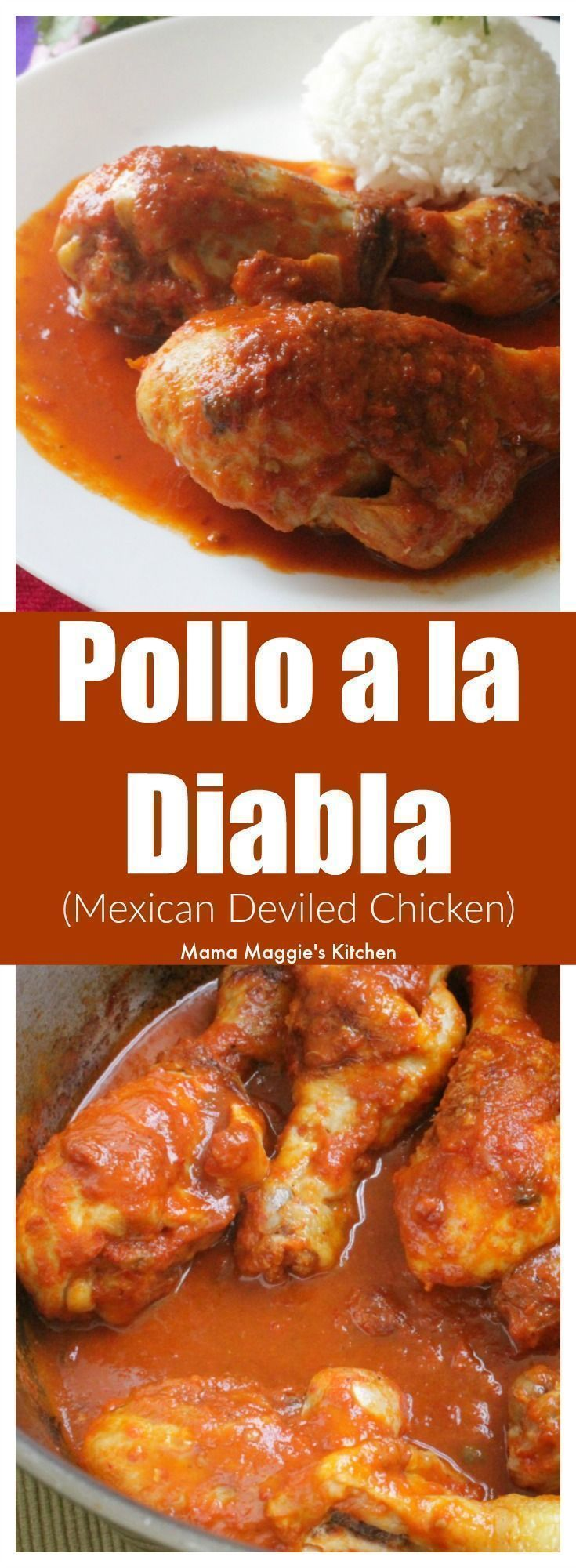 Mexican Deviled Chicken, or Pollo a la Diabla + VIDEO