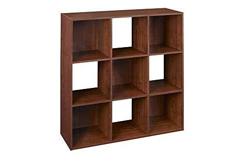 Closetmaid 4105 Cubeicals Organizer 9 Cube Dark Cherry Cube Organizer Cube Storage Cube