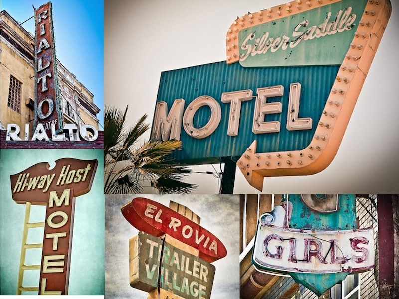 Retro Signs from the 50's