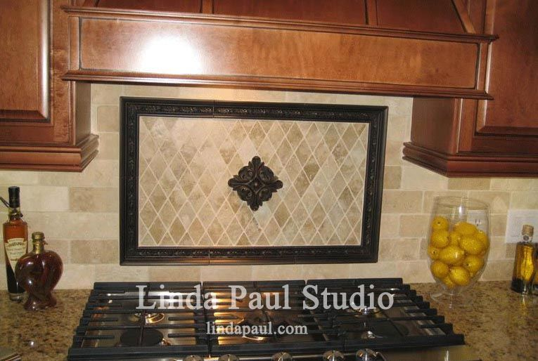 Tuscan Kitchen Backsplash Ideas Just A Single Accent