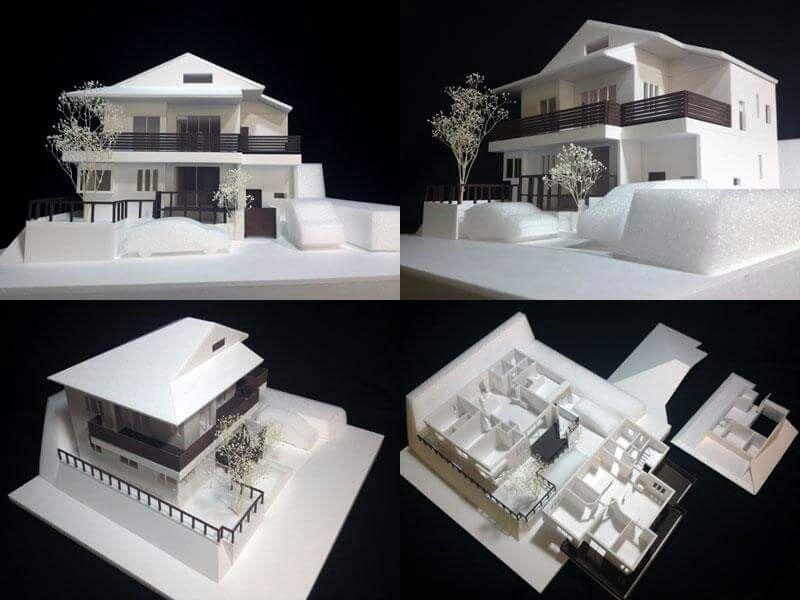P S 1 50住宅模型です 建築模型の作り方を気軽に観てね Youtube動画