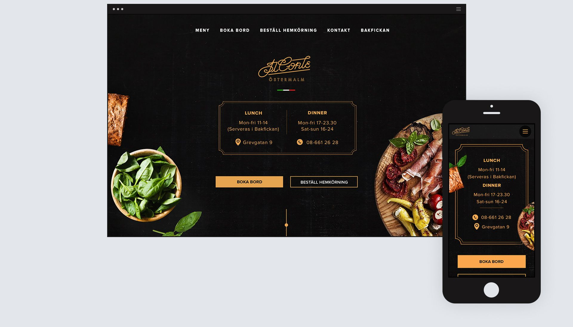 Il Conte Restaurant on Behance