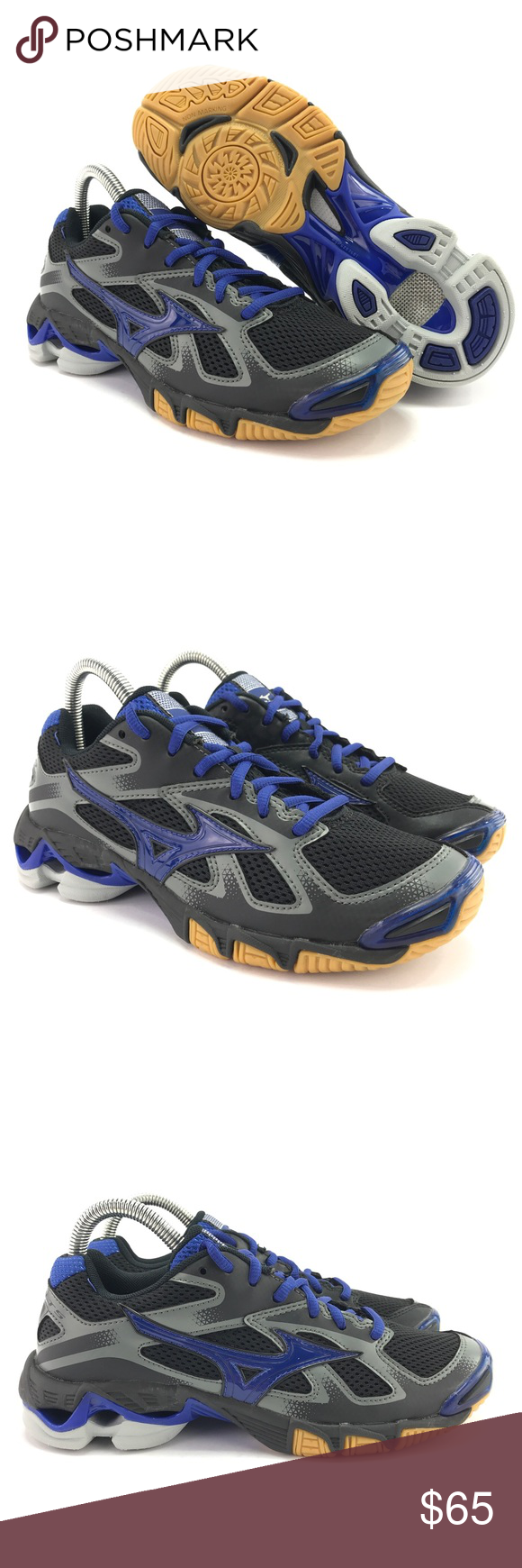 Mizuno Women S Wave Bolt 5 Volleyball Shoes Size 7 In 2020 Volleyball Shoes Mizuno Shoes Mizuno