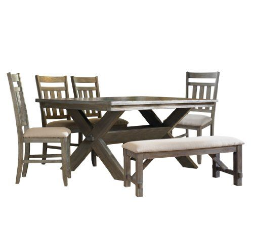 Powell Turino Dining Set 6 Piece Powell