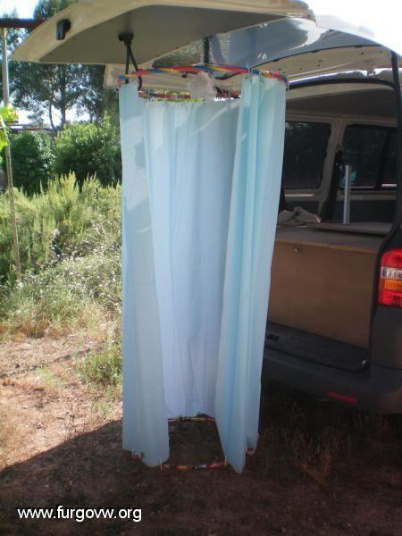 Photo of furgoneta camper ducha
