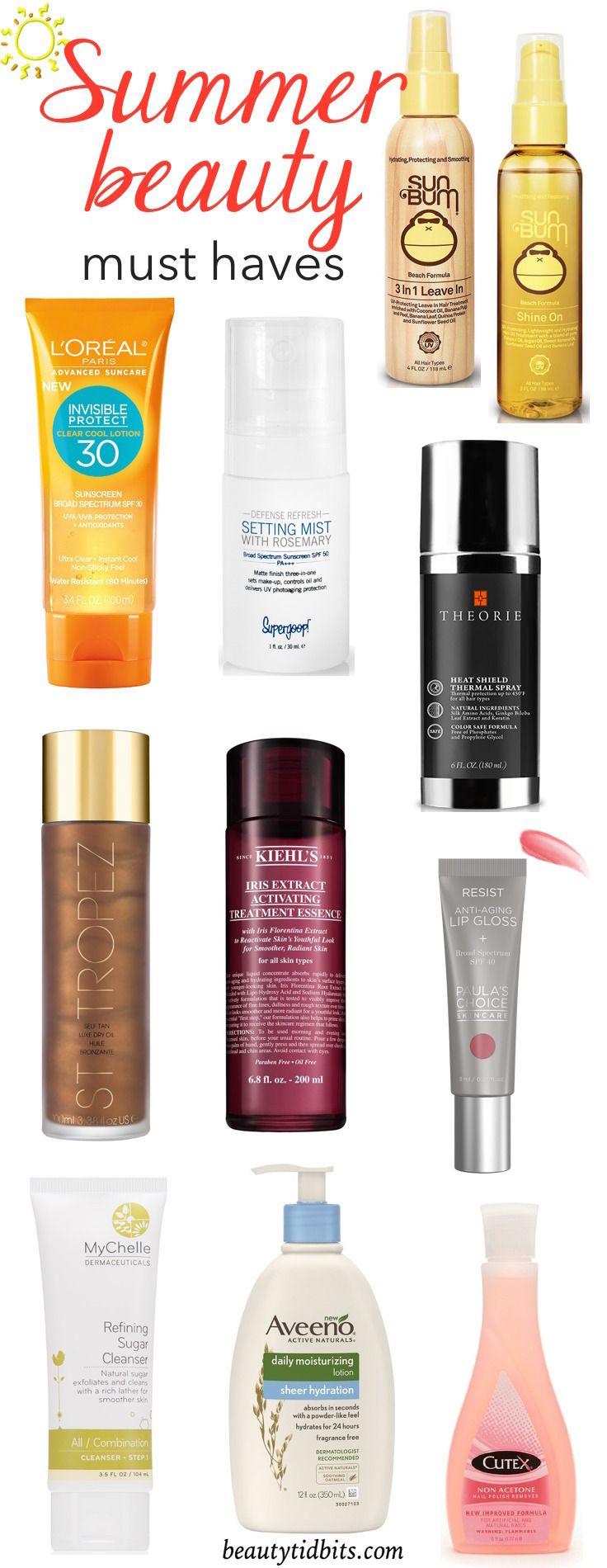 10 Summer Beauty Essentials To Beat The Heat #beautyessentials