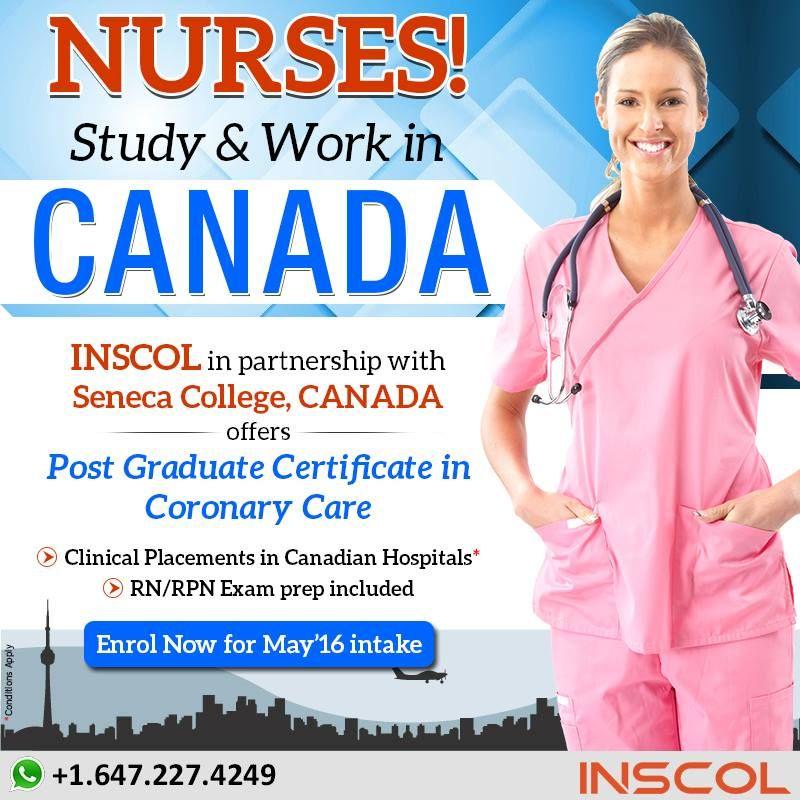Nurses Upgrade Your Skills In Canada Study At Toronto S Leading Community College For Detailed Information Visit Nurse Nursing Courses Nursing Programs