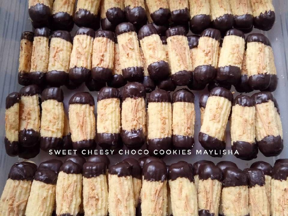 Sweet Cheesy Choco Cookies Resep Dengan Gambar Resep Makanan Kue Kering