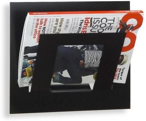 If you have a need for storage in the home, office, salon, school or waiting room this high quality wall mounted metal magazine rack will complement any environment. A contemporary look storage solution that will modernise any home or office. Magazines can be mounted in the vertical or horizontal position. Manufactured in 2mm Steel and Powder Coated. Holds up to 5+ magazine or newspapers in compartment. Dimensions 30cm x 33cm x 10cm deep. The design of this product lets the rack sit 2cm from…