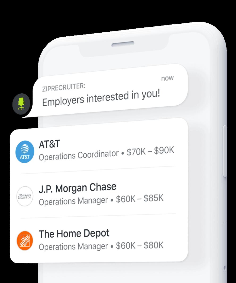 Job Search Millions Of Jobs Hiring Near You Ziprecruiter Job Search Jobs Hiring Marketing Jobs