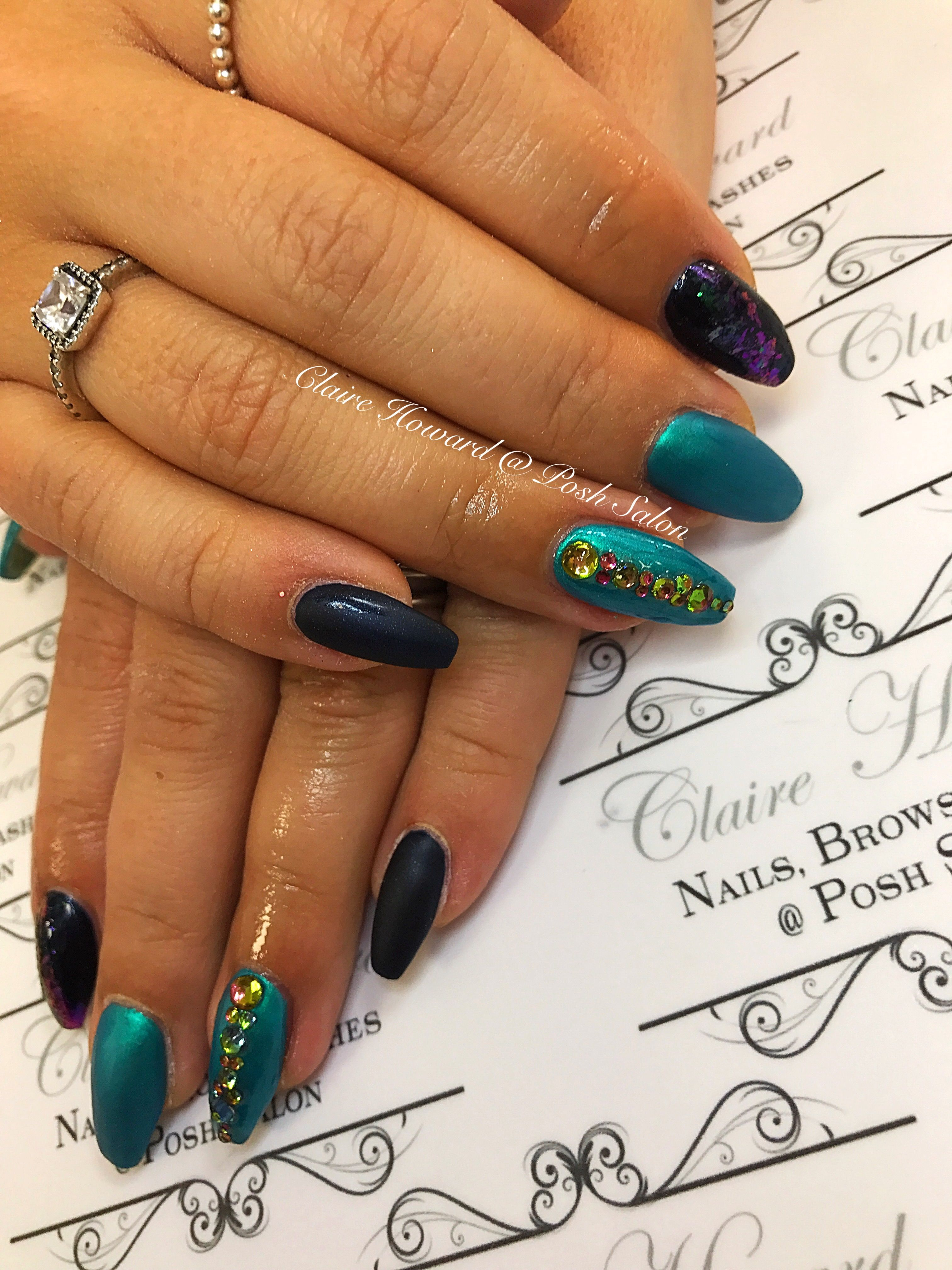 56 images best peacock nail art