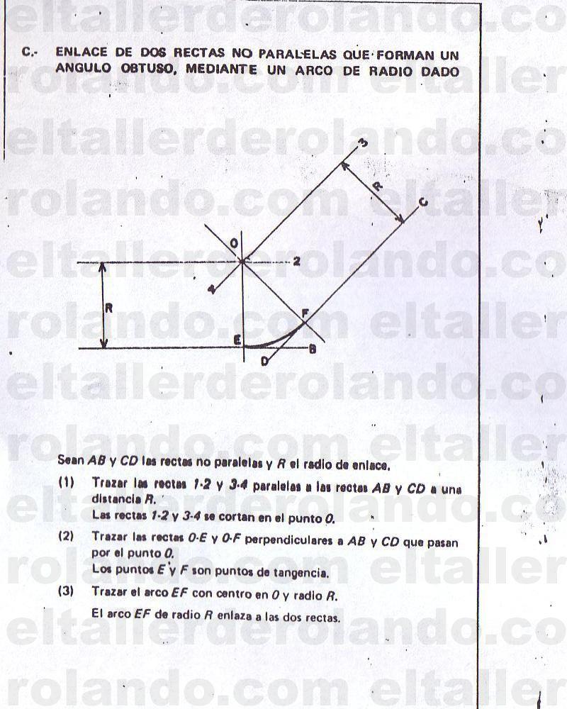 Trazado De Lineas Y Figuras Geometricas 40 Copia Tangencias Tecnicas De Dibujo Dibujo Tecnico Ejercicios