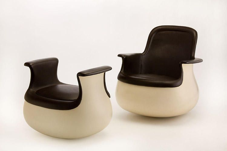 12 famous chairs designed by famous architects armrest chair with a stool by marc held for knoll to