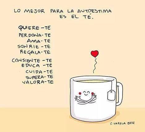 Me encanta el té
