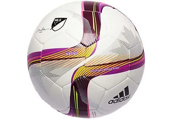 Adidas Mls 2015 Glider Ball White And Flash Pink