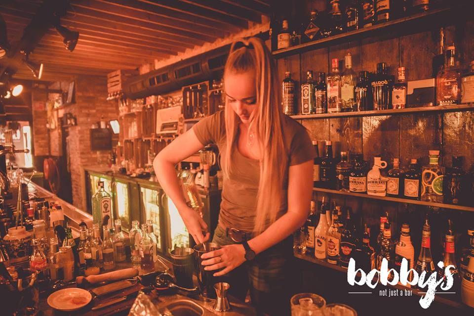 Behind The Bar Bobbys Helmond Gin Tonic Bobby Gin