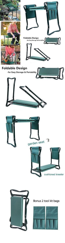 Amazing Garden Kneelers Pads And Seats 75669: Garden Padded Kneeler Stool And Seat  Tool Yard Work