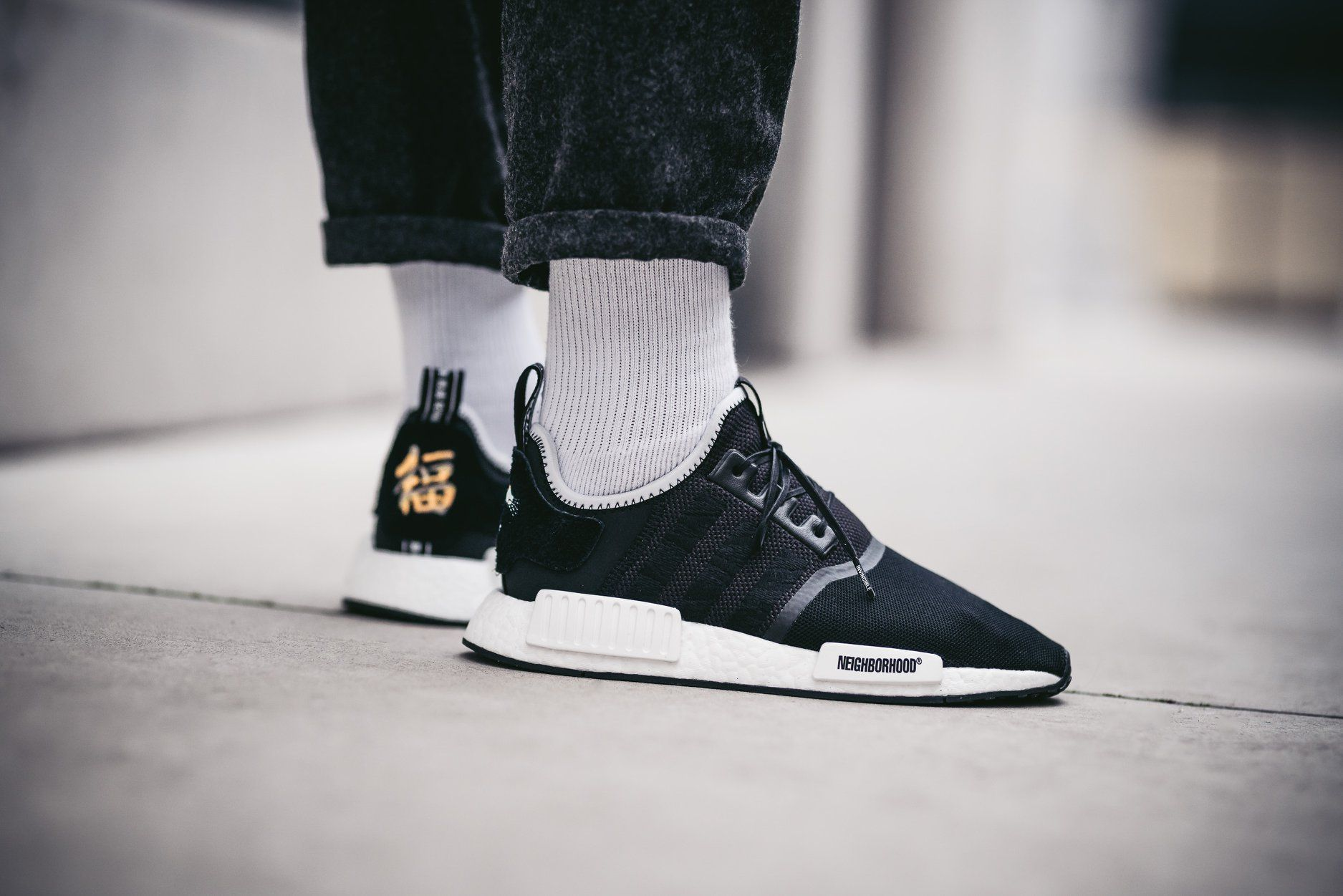 2bd6c13ed Invincible x Neighborhood x adidas Consortium NMD R1 - Grailify Sneaker  Releases