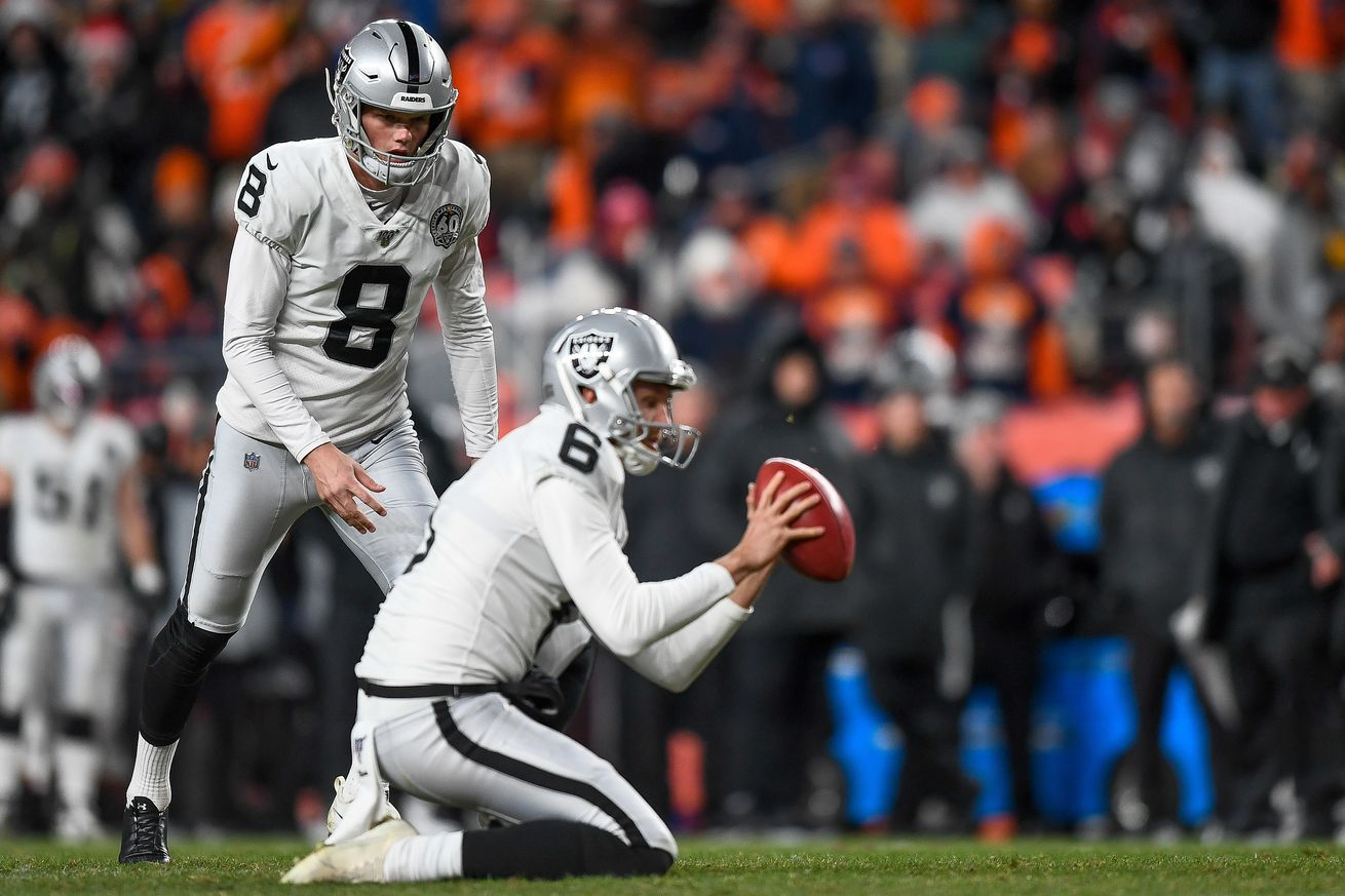 Raiders Kicker Daniel Carlson Has Come Back Really Strong Special Teams Coach Says Nfl News Nfl Update Nfl Nfl Slash In 2020 Team Coaching Nfl News Nfl Season