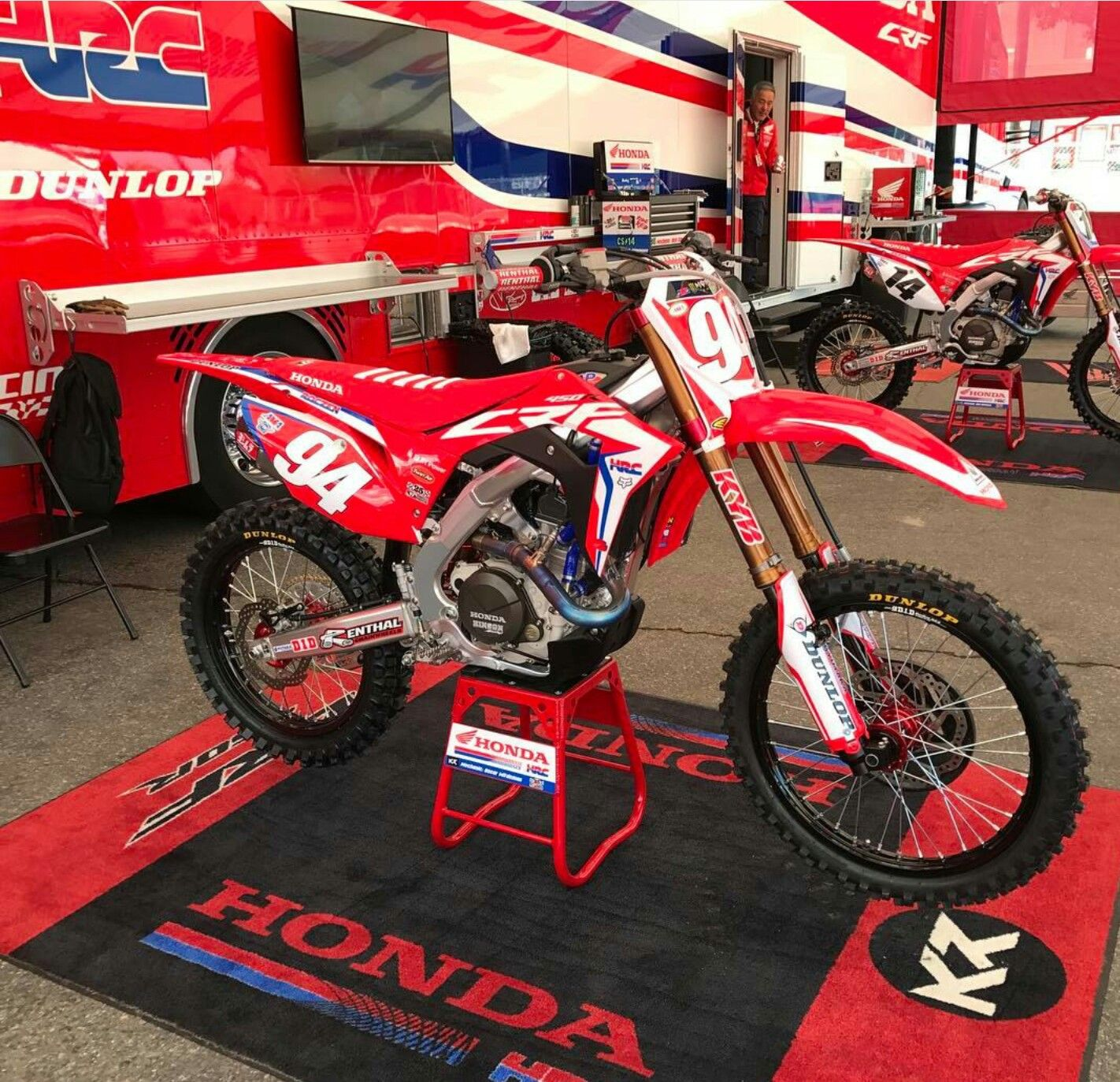 Ken Roczen Crf450r Honda Dirt Bike Dirt Bikes Bike Freestyle