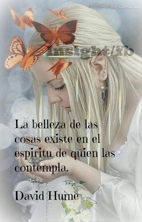 La Belleza De Las Cosas Yes Frases Pensamientos