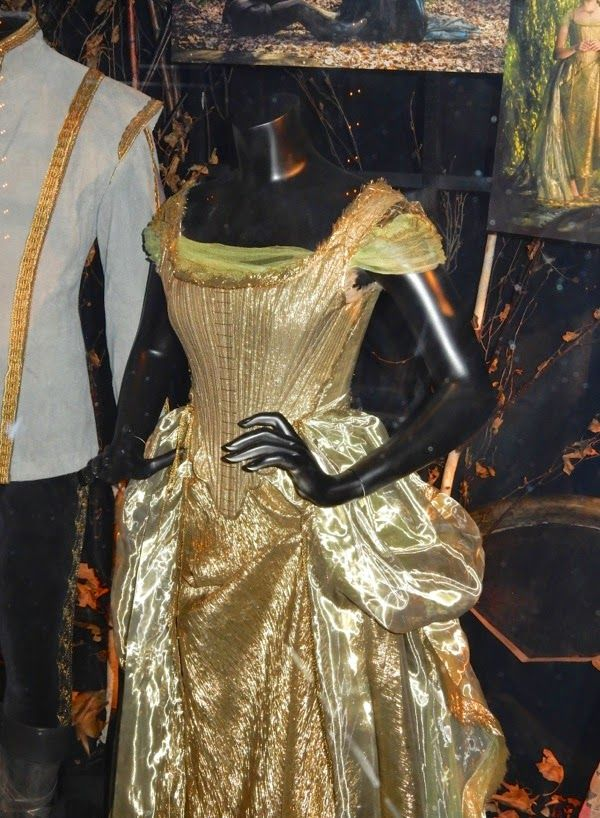 Cinderella Into the Woods movie costume detail