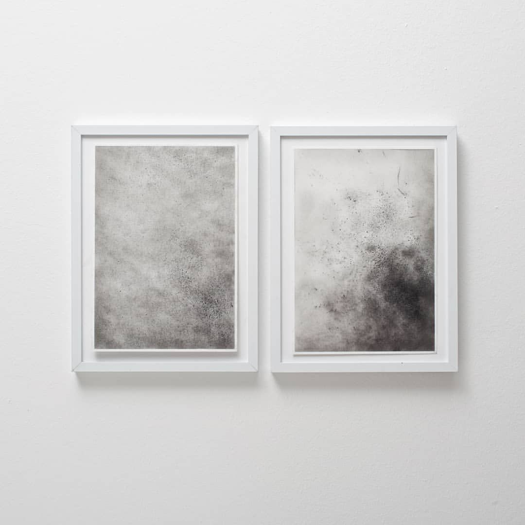 nordic light 4 and 5 . original pastle drawings . 15 x 21 cm each ...