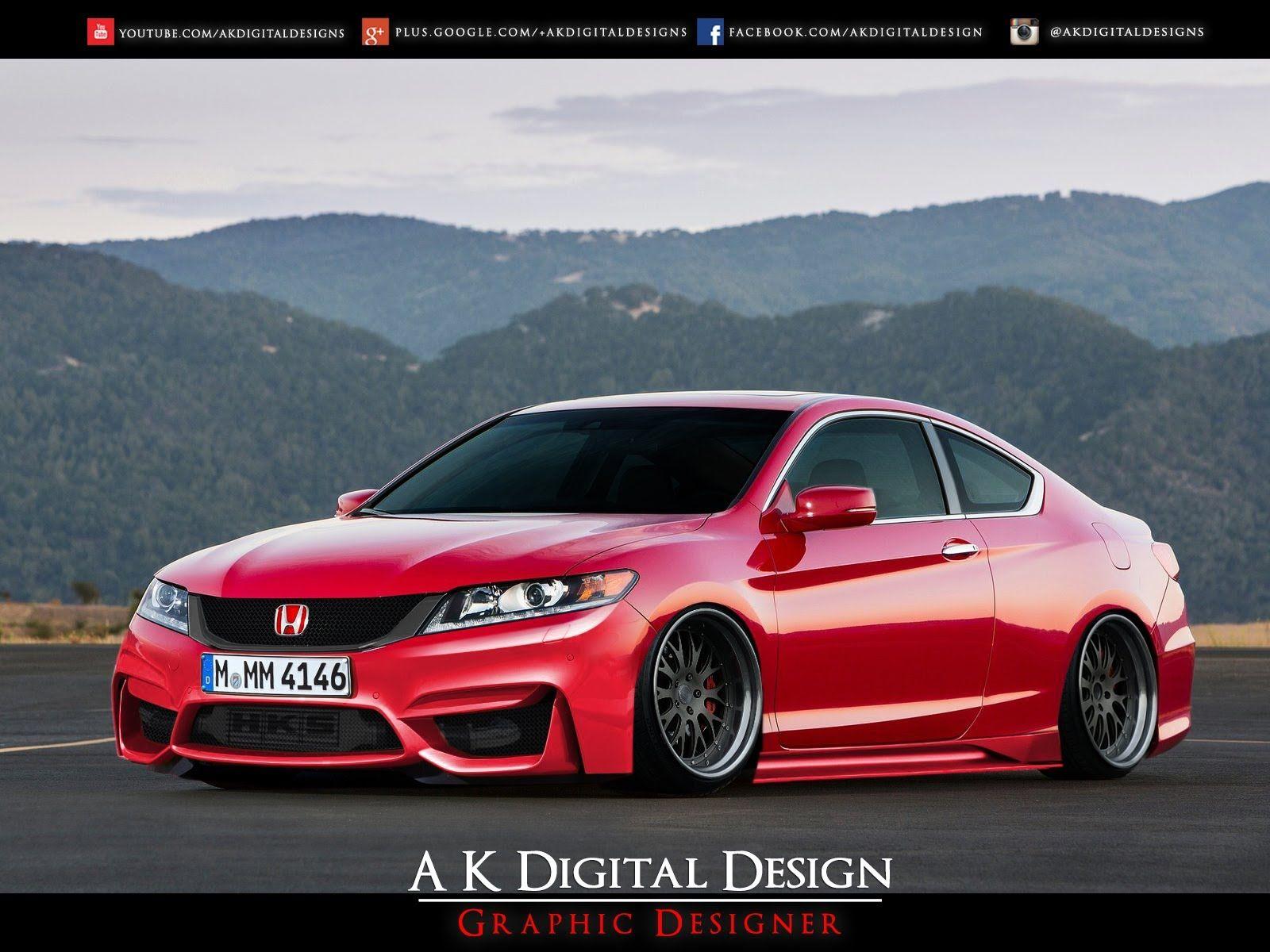 2013 Honda Accord Coupe Modified Slammed YouTube