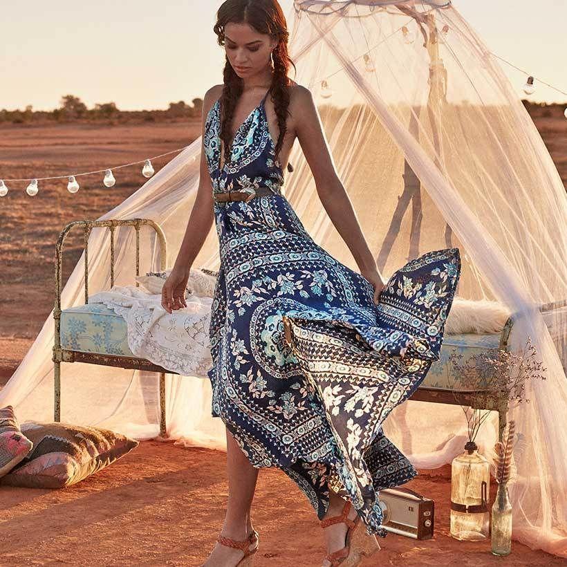 Summer Boho Beach Dresses