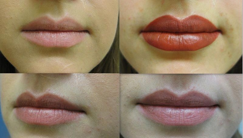 Lips permanent makeup before after photo goforit lip