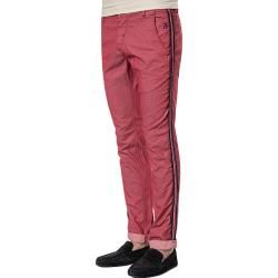 Photo of Barb 'one one's chinos, cotone, rosso scuro
