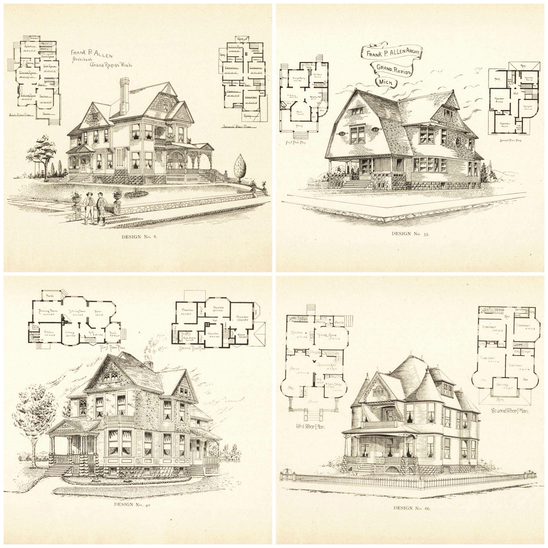 20+ Free Vintage Printable Blueprints and Diagrams | Remodelaholic ...