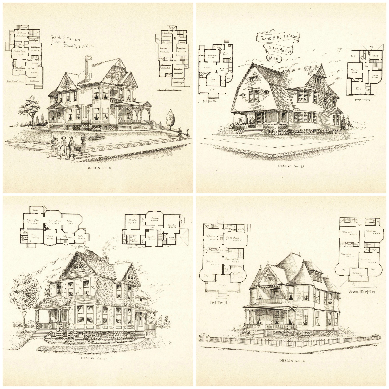 Strange 20 Free Vintage Printable Blueprints And Diagrams House Plans Largest Home Design Picture Inspirations Pitcheantrous