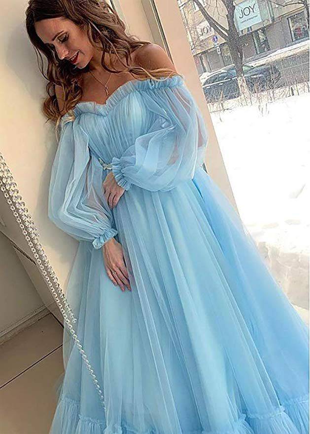 Dressylady Charming Off The Shoulder Puffy Sleeve